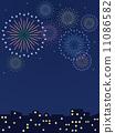 cityscape, pyrotechnics, firework 11086582