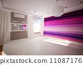 curtains, model, interior 11087176