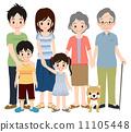 三代家庭短袖 11105448