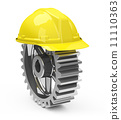protect, construction, helmet 11110363