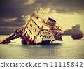 船體殘骸 船 損壞的 11115842