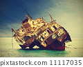 船體殘骸 船 損壞的 11117035