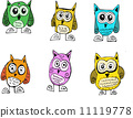 cartoon animals collection in Jaidee Family Style 11119778