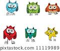 cartoon animals collection in Jaidee Family Style 11119989