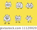 绘画 猫头鹰 可爱 11120020