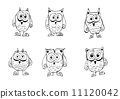 cartoon animals collection in Jaidee Family Style 11120042