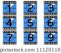 film, vector, filmstrip 11120110
