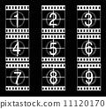 film, vector, filmstrip 11120170
