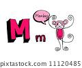 动物 字母 abc 11120485