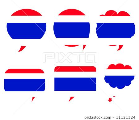 Thailand flag icon design 11121324