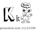 动物 字母 abc 11122390