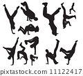 people dance Pictograms Icon Sign Symbol 11122417