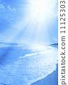 water's edge, solar, the sea 11125303