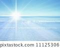 scenery, solar, the sea 11125306