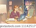 Working at Night 11142517