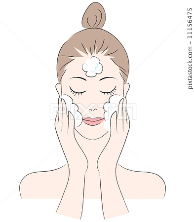 face washing, face wash, face clensing 11156475
