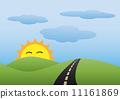 Landscape Scene in the morning 11161869