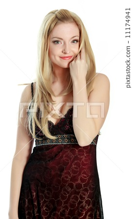 attractive caucasian blond in 30 years old 11174941