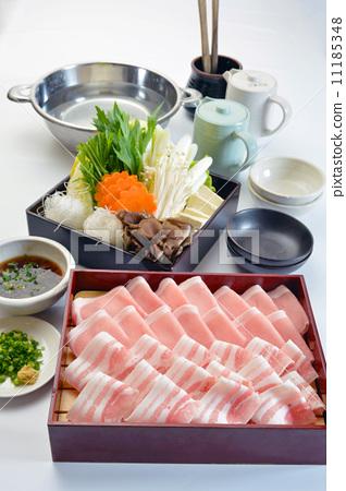 Swine shabu-shab set 3 11185348