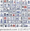ถนน,เวกเตอร์,อาคาร 11214517