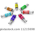 colorful dampers 11215698