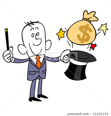 모자에서 돈을내는 사업 11220154