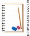 橡皮 卷笔刀 笔记本 11222330