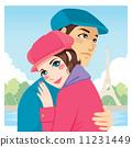 lovers, romantic, couple 11231449