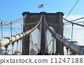 브루클린 브리지와 성조기 11247188
