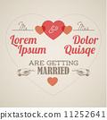 wedding, vector, retro 11252641