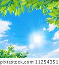 sun, solar, blue sky 11254351