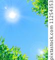 blue sky, sun, solar 11254353