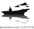 silhouette transport military 11257378