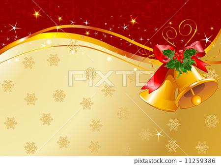 Christmas bells design 11259386
