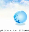 globe, earth, clouds 11272686