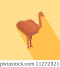 鳥 動物 鴕鳥 11272921