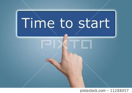 pressing time to start button 11288057
