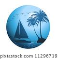 沿海 三维 立体 11296719