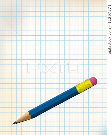 Paper with pencil 11297371