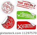 classified, approved, confidental 11297570