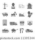 Construction Icons Set 11305344