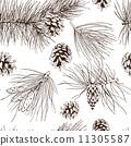 装饰性的 松球 壁纸 11305587