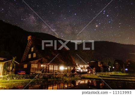 시라카와 고에 떠오르는 은하수 11313993