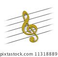 音乐 笔记 谱号 11318889