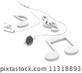 耳机 音乐 笔记 11318893