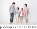 가족 4 명 11319344
