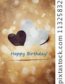 birthday card, ornamentation, kraft 11325832