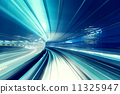High speed train speed motion 11325947