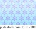 模様 雪の結晶② 11335109