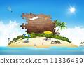white, sandy, beach 11336459